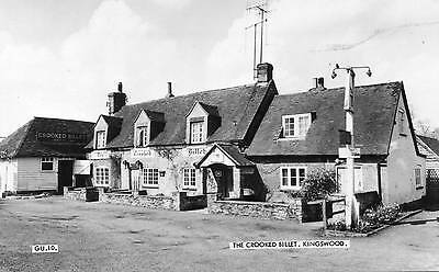 """the Crooked Billet Kingswood"" (Bucks) Old Frith Postcard"