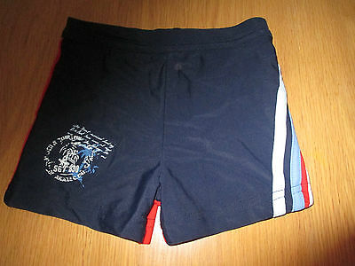 Red & Navy swim trunks aged 18-24 months from George