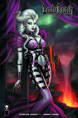 Lady Death Extinction Express #1 Naughty Cover Just Released Sabine Rich