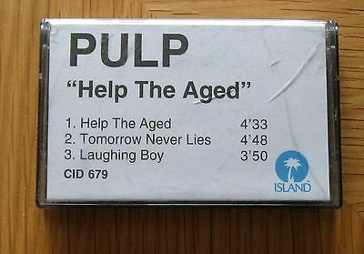 Pulp - Help The Aged VERY RARE Promo Cassette 1997