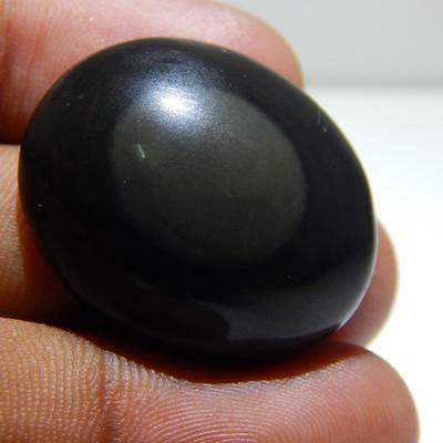 39.6 Cts Genuine A+100% Natural Rainbow Obsidian Cabochon Loose Gemstone P#3776
