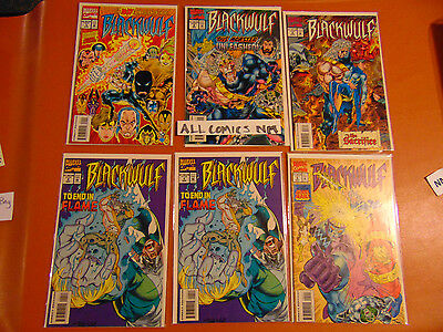 BlackWulf  (5 Issue Lot)  #1-5  (Double Copies #4)  Marvel 1994  (NM)