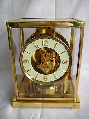 Vintage Jaeger Lecoultre Atmos Clock 526-5 Fully Serviced Immaculate Condition