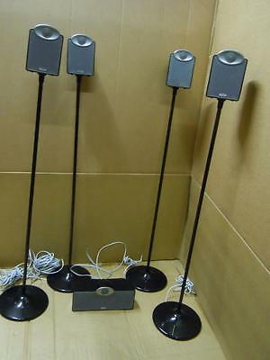 Tannoy SFX 5.1 Great Speaker Set With 4 Stands-Superb Sound.