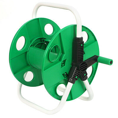 45M Portable Pipe Hose Reel Troley Holder Garden Water Pipe Lightweight Carrier