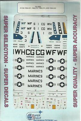 Microscale Superscale 72-355 AV-8A Harrier decals in 1:72 Scale