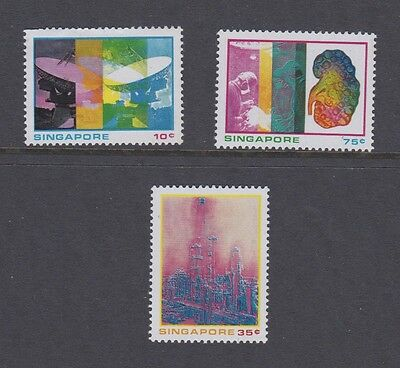 Stamps Singapore 1975 MH set Science