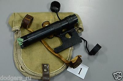 Original Soviet Russian Mosin Nagant 91/30 PU Sniper Scope, Cover, Caps