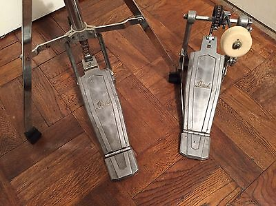 Vintage Pearl Hi Hat And Bass Drum Pedals