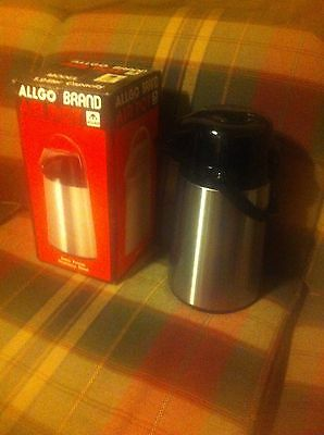 ALLGO Brand 1.9 L Stainless Steel Air Pot / Used Once
