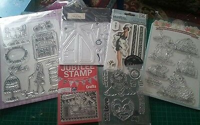 Large bundle of Assorted stamps *NEW* 6 sets Clear Out Joblot
