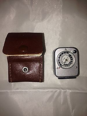 Bewi Automatic Vintage Retro Camera Light Meter With Case DIN ASA