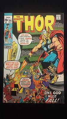 Thor #181 Mephisto Appearance United Nations cover Adams Journey Into Mystery