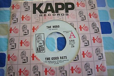 The Good Rats. The Hobo / Truth Is Gone.( Radio Station Copy ) U.s.a Kapp (1969)