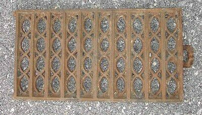 Antique Cast Iron Heat Grate Vent Register Or Door