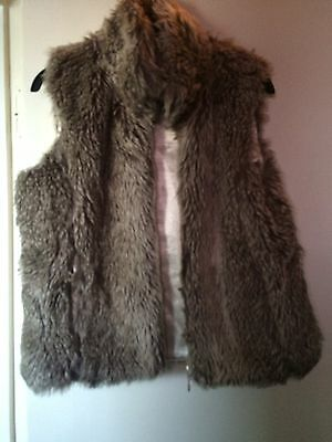Girls Fur Gillet Faux Fur Winter