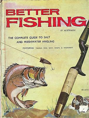 1960s BETTER FISHING IN AUSTRALIA Tackle Baits Rigs Knots ALVEY Ad
