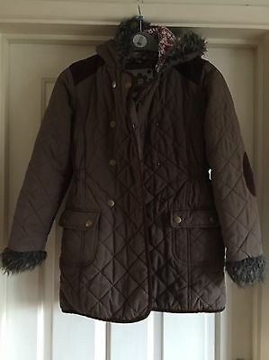 TU Quilted Girls Coat, Age 11-12 Years - Lovely!