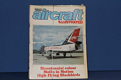 Aircraft Illustrated by Ian Allen 1977 all 12 issues with free postage