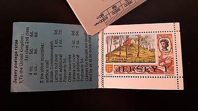 1969 Jersey Stamp Booklets x 2 Incomplete MNH.