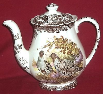 Royal Worcester Palissy GAME SERIES Coffee Pot