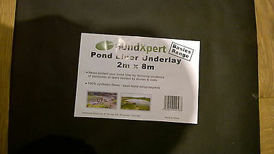 Pondexpert 2m X 8m Pond Liner Underlay - 2 Available
