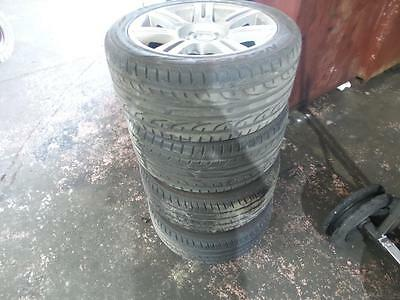 Bmw 3 Series E90 M Sports Set Of Wheel Mags And Tyres