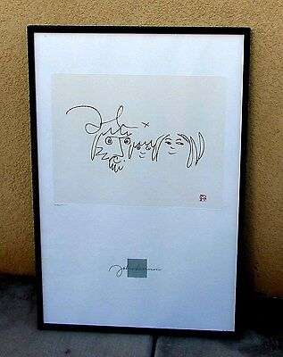 """JOHN LENNON, Limited Edition Lithograph """"Bag One"""" THE FAMILY, 3286/5000"""