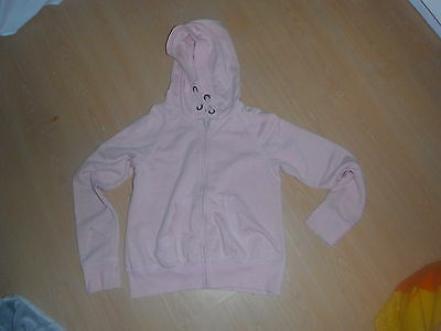 hooded top pink age  12 next