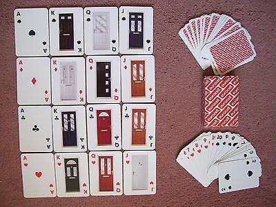 Eurocell Doors Poker Size Deck Of Playing Cards.(Unused=Mint)