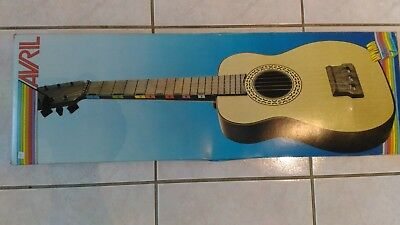 Instrument Vintage « Guitare Avril – GS 7090 » Tout Neuf.