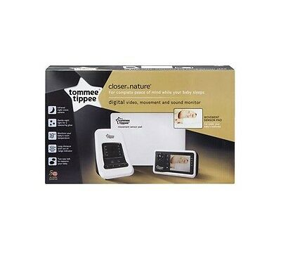 Tommee Tippee Closer To Nature Video Sensor Monitor Camera Baby