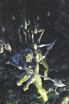 Aliens Vs Predator Life And Death #1 Main Palumbo Cover