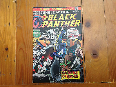 Jungle Action No; 19  Featuring The Black Panther. 1St Own Series.