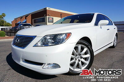 2009 Lexus LS 09 Lexus LS460 Sedan LS 460 1 Owner Clean CarFax! 2009 White Lexus LS460 Sedan 1 Owner Clean CarFax like 2007 2008 2010 2011 2012