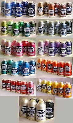 Marathon Embroidery Machine Thread Set of 6s - Choose your colour selection