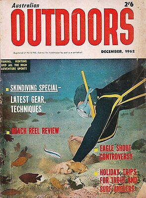 1962 AUSTRALIAN OUTDOORS McCristal Hunting Fishing Ruger Skindiving Wal Hardy