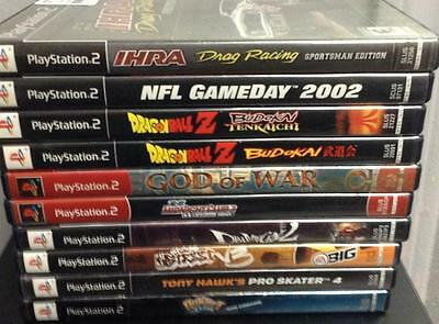 Lot of 10 PS2 Games-Dragonball Z and More!