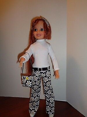 Pretty Daisy Pants  Outfit For Ideal Crissy Doll