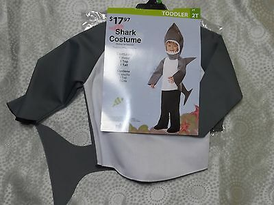 Boy's Shark Purim/Dress up Costume New Size 2T NWT!