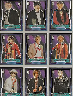 Doctor Who Topps 2015 Complete 200 Card Base Set and Memorable Moments Set