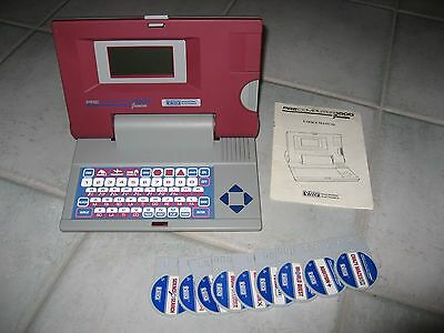 Educational Vintage VTECH Pre Computer 1000 Junior + Cards