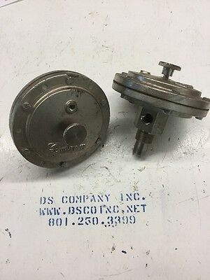 (2) Murphy Stainless Steel Diaphragms For Valve NEW!
