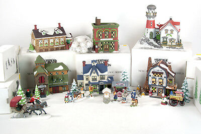 Dept 56 New England Seaside Village Collection Buildings Lighthouse Accessories