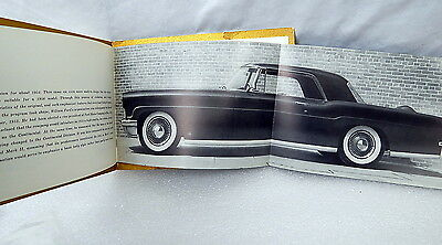 Rare Original 1955 Lincoln Continental Mark 2 Dealer Brochure