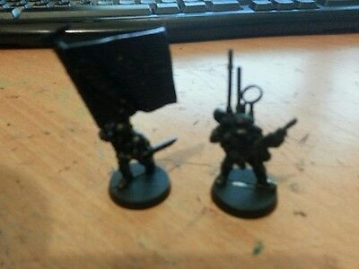 Warhammer 40K Imperial Guard Cadian Comand Squad