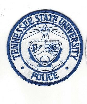 Tennessee State University in Nashville TN Police Dept. LEO patch - NEW!