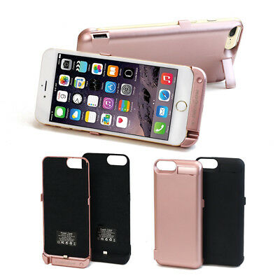Portable External Battery Backup Power Bank Charger Case Cover for iPhone 7 6s 6