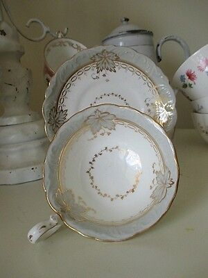 Elegant Antique Staffordshire Duo 1800's Beauty