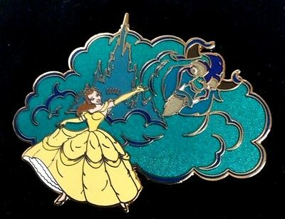 LE 100 Beauty and The Beast Pin Disney Auction